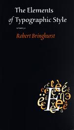 robert bringhurst elements of typographic style pdf